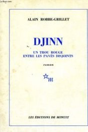 book cover of Djinn by Alain Robbe-Grillet