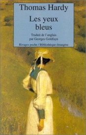 book cover of Les Yeux bleus by Thomas Hardy
