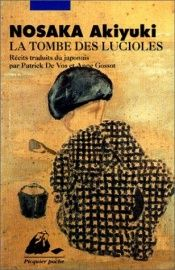 book cover of La Tombe des lucioles by Akiyuki Nosaka