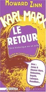 book cover of Karl Marx, le retour by Howard Zinn