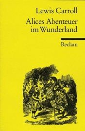 book cover of Alice im Wunderland by Lewis Carroll