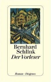 book cover of Der Vorleser by Bernhard Schlink