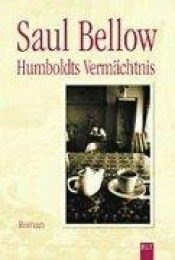 book cover of Humboldts Vermächtnis by Saul Bellow