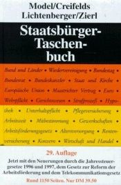 book cover of Staatsbürger-Taschenbuch by Otto Model