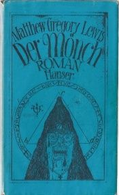 book cover of Der Mönch by Matthew Gregory Lewis