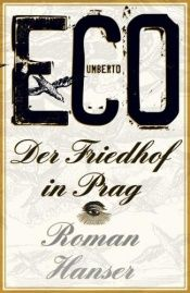 book cover of Der Friedhof in Prag by Umberto Eco