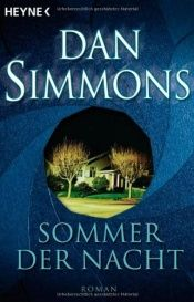 book cover of Sommer der Nacht by Dan Simmons