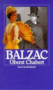 book cover of Oberst Chabert by Honoré de Balzac