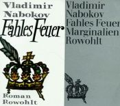 book cover of Fahles Feuer by Vladimir Nabokov
