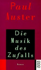 book cover of Die Musik des Zufalls by Paul Auster
