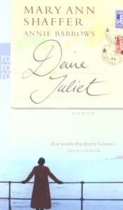 book cover of Deine Juliet by Mary Ann Shaffer