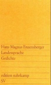 book cover of Landessprache by Hans Magnus Enzensberger