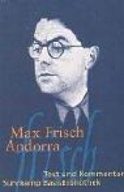 book cover of Andorra by Max Frisch