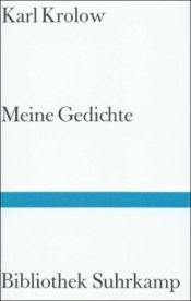 book cover of Meine Gedic by Karl Krolow