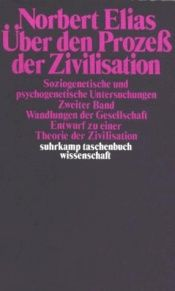book cover of Über den Prozeß der Zivilisation 2 by Norbert Elias