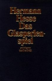 book cover of Das Glasperlenspiel by Hermann Hesse