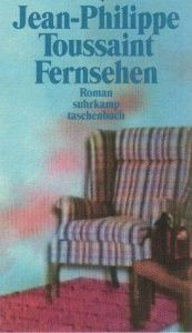 book cover of Fernsehen by Jean-Philippe Toussaint
