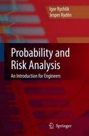 book cover of Probability and Risk Analysis by Igor Rychlik