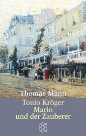 book cover of Tonio Kröger by Thomas Mann