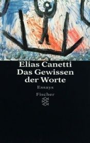 book cover of The Conscience of Words by Elias Canetti
