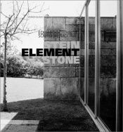 book cover of Eduardo Souto de Moura : Stein, Element, Stone by Blaser Werner