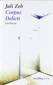 book cover of Corpus delicti by Juli Zeh