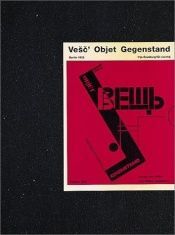 book cover of Vesc Object Gegenstand by