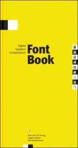 book cover of FontBook [Digital Typeface Compendium] by Erik Spiekermann