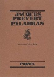 book cover of Palabras - Poesia by Jacques Prevert
