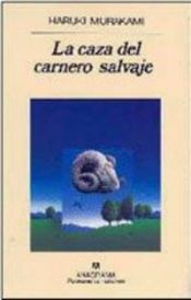 book cover of La caza del carnero salvaje by Haruki Murakami