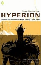 book cover of Hyperion by Dan Simmons