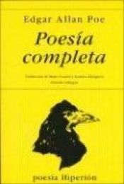 book cover of Poesía Completa by Edgar Allan Poe