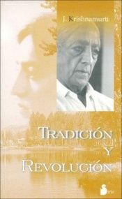 book cover of Tradition and Revolution by Jiddu Krishnamurti