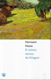book cover of Klingsors siste sommer by Hermann Hesse