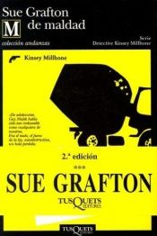 book cover of M de maldad by Sue Grafton