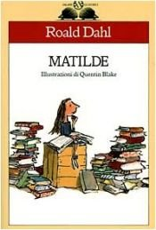 book cover of Matilde by Roald Dahl