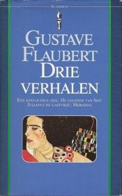 book cover of Drie verhalen by Gustave Flaubert