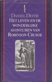 book cover of Robinson Crusoe by Daniel Defoe