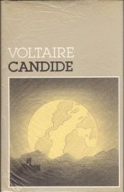 book cover of Candide by Voltaire