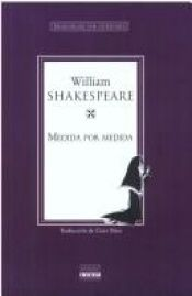 book cover of Medida por medida by William Shakespeare