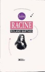 book cover of Sobre Racine by Roland Barthes