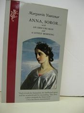 book cover of Anna Soror by Marguerite Yourcenar