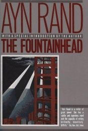 book cover of The Fountainhead by Ayn Rand