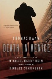 book cover of Death in Venice by Томас Ман