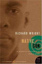 book cover of Native Son by Richard Wright