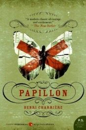 book cover of Papillon by Henri Charrière