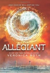book cover of Allegiant by Veronica Roth