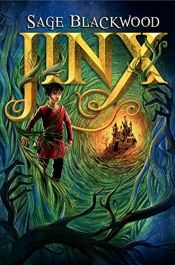 book cover of Jinx by Sage Blackwood