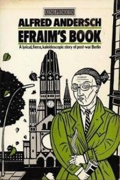 book cover of Efraim's Book by Alfred Andersch