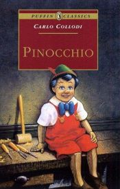 book cover of Pinokkio by Carlo Collodi